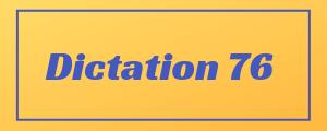 100-wpm-Dictation-No-76
