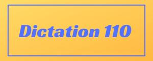 100-wpm-Dictation-No-110