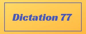 100-wpm-Dictation-No-77