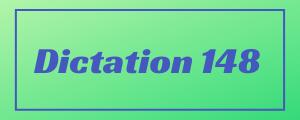 120-wpm-Dictation-No-148