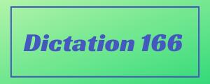 120-wpm-Dictation-No-166