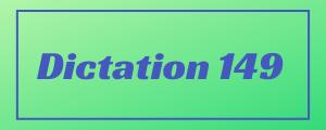 120-wpm-Dictation-No-149