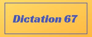 100-wpm-Dictation-No-67