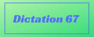 120-wpm-Dictation-No-67