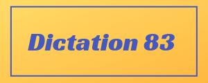 100-wpm-Dictation-No-83