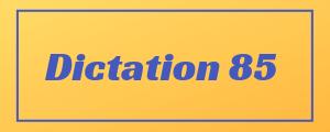 100-wpm-Dictation-No-85