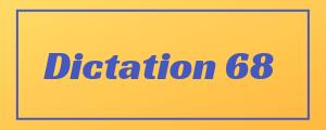 100-wpm-Dictation-No-68