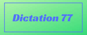 120-wpm-Dictation-No-77