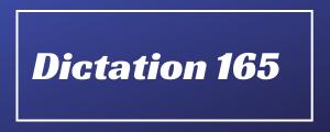 80-wpm-Dictation-No-165