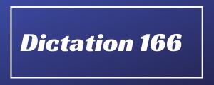80-wpm-Dictation-No-166