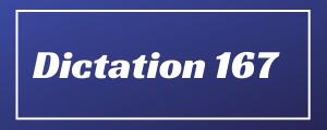 80-wpm-Dictation-No-167