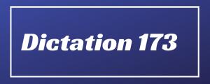 80-wpm-Dictation-No-173