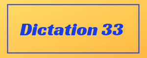 100-wpm-Dictation-No-33