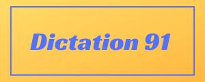 100-wpm-Dictation-No-91