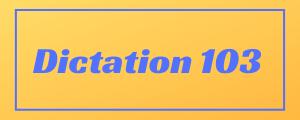 100-wpm-Dictation-No-103
