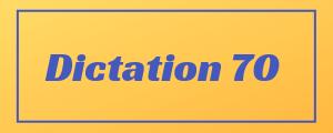100-wpm-Dictation-No-70