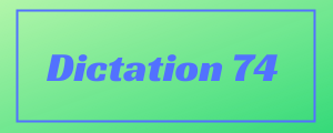 120-wpm-Dictation-No-74