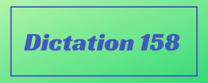 120-wpm-Dictation-No-158