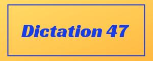 100-wpm-Dictation-No-47