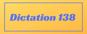 100-wpm-Dictation-No-138