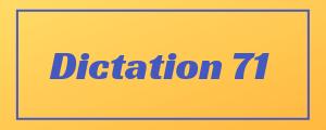 100-wpm-Dictation-No-71