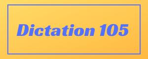 100-wpm-Dictation-No-105