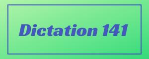 120-wpm-Dictation-No-141