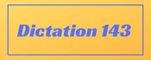 100-wpm-Dictation-No-143