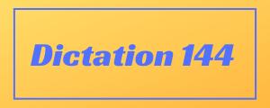 100-wpm-Dictation-No-144