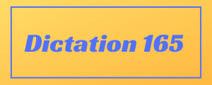 100-wpm-Dictation-No-165
