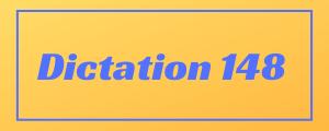 100-wpm-Dictation-No-148