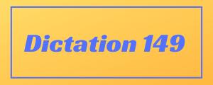 100-wpm-Dictation-No-149