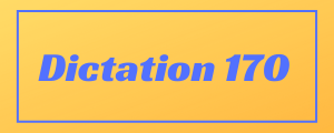 100-wpm-Dictation-No-170