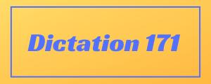 100-wpm-Dictation-No-171