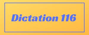 100-wpm-Dictation-No-116