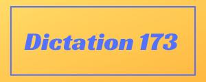 100-wpm-Dictation-No-173