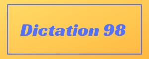 100-wpm-Dictation-No-98