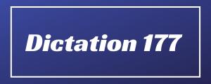 80-wpm-Dictation-No-177