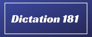 80-wpm-Dictation-No-181
