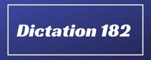 80-wpm-Dictation-No-182