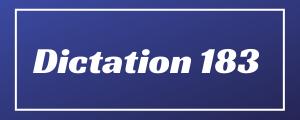 80-wpm-Dictation-No-183