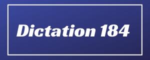 80-wpm-Dictation-No-184