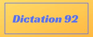 100-wpm-Dictation-No-92