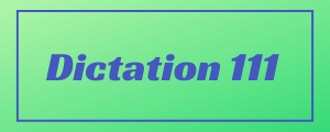 120-wpm-Dictation-No-111