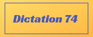100-wpm-Dictation-No-74