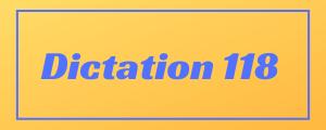 100-wpm-Dictation-No-118