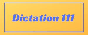 100-wpm-Dictation-No-111